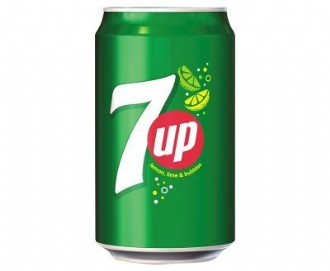 CANS 7UP 330ml (24)