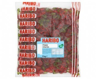 HARIBO HAPPY CHERRIES 3kg**