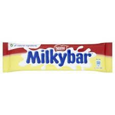 UK MILKY BAR MEDIUM 25g (40)