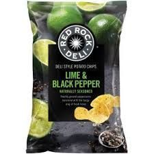 RED ROCK LIME PEPPER 165g