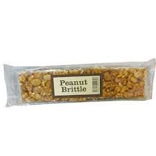 Real Candy Peanut Brittle Bar UK 100g (12)