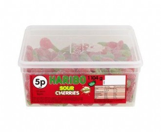 HARIBO SOUR CHERRIES (120)
