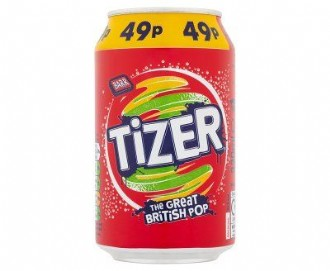 TIZER CANS 49p 330ml (24)