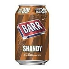 CANS BARRS SHANDY 330ML X 24