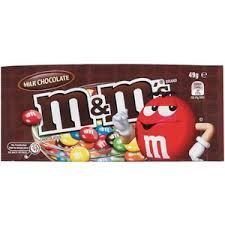 M&Ms CHOCOLATE 49g (12)