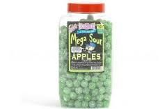 BARNETTS MEGA SOUR APPLES 3kg