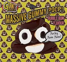 Giant Candy Gummy Poop 800g