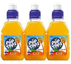 POP TOPS ORANGE 250ml (24)