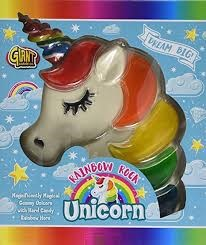 Giant Candy Rainbow Rock Unicorn