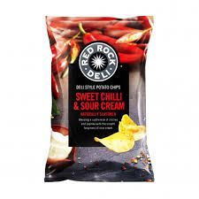 RED ROCK SOUR CREAM & SWEET CHILLI 165g