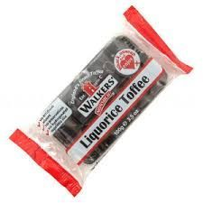WALKERS A/PACK LIQUORICE TOFFEE 100g (10)