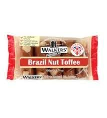 WALKERS A/PACK BRAZIL NUT TOFFEE 100G (10)